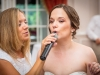 dreamscape-holds-microphone-for-bride-wedding-pittsburgh-fox-chapel