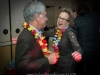A fun pair of guests dance to the music of the John Parker Band at the Riverside Hotel in Ft. Lauderdale.