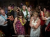 Guests dance with the bride and groom at the Riverside Hotel, Ft. Lauderdale.