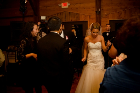 Bride Dancing at Lingrow Farm wedding, Pittsburgh.