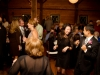 Guests dancing at Lingrow Farm wedding, Pittsburgh.