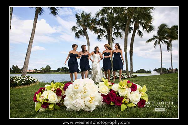 bride-linked-with-bridesmaids-at-pga-resort-palm-beach