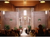 Wedding ceremony at St. John Capistran Church in Pittsburgh.