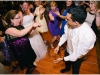 Bride and groom dance with their guests at a a Sheraton Station Square, Pittsburgh wedding.