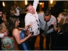 Guests dancing with Tammi of Dreamscape at a Sheraton Station Square, Pittsburgh wedding.