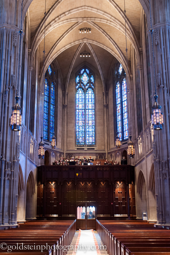 Fairmont Hotel Pittsburgh Wedding Ceremony - Gorgeous Heinz Chapel Venue