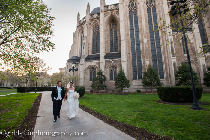 Fairmont Hotel Pittsburgh Wedding: Bride and Groom Leave Ceremony