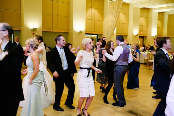 Circuit Center Pittsburgh Wedding - Guests Dance to Music from Wedding Band