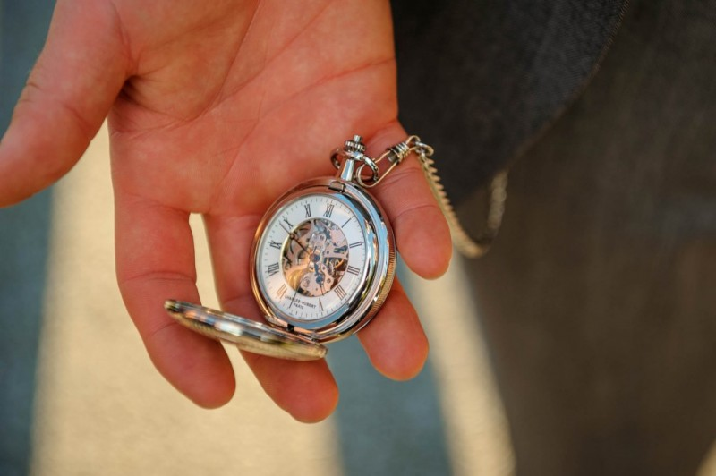 Peek n Peak Wedding Groom's Vintage Pocket Watch Accessory