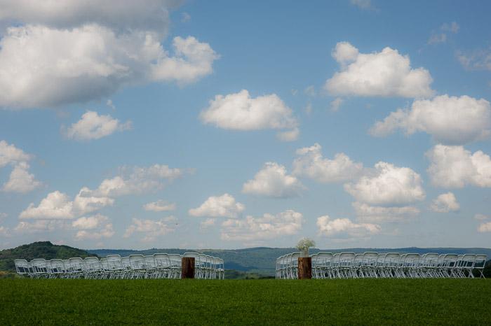 Foxley Farm Wedding Outdoor Field Ceremony Venue