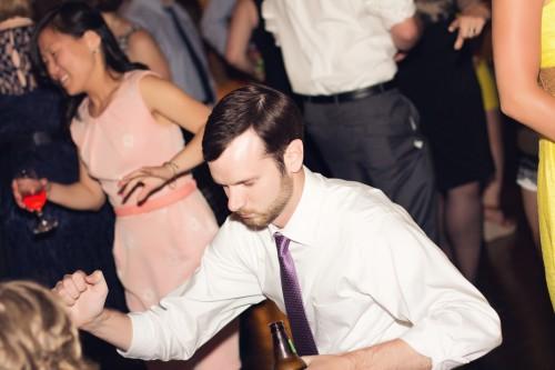 Green Gables Jennerstown Wedding Groomsmen Cutting a Rug on the Dance Floor