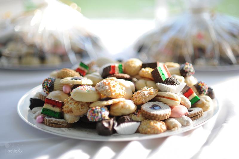 The Links Wedding Reception Cookie Sweet Treats