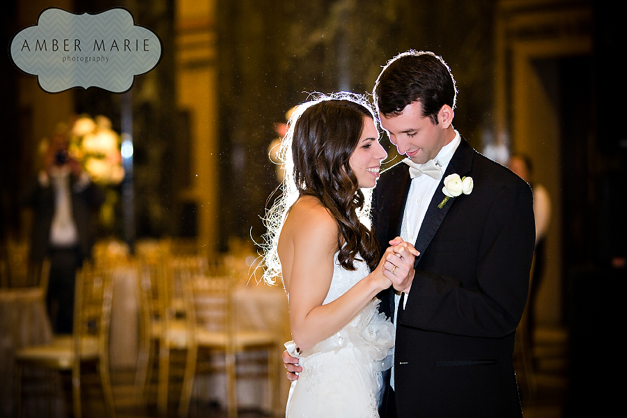 Carnegie Museums Pittsburgh Wedding Reception - Bride and Groom's First Dance