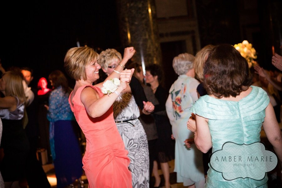 Carnegie Museums Pittsburgh Wedding Reception - Guests Jive on Dance Floor