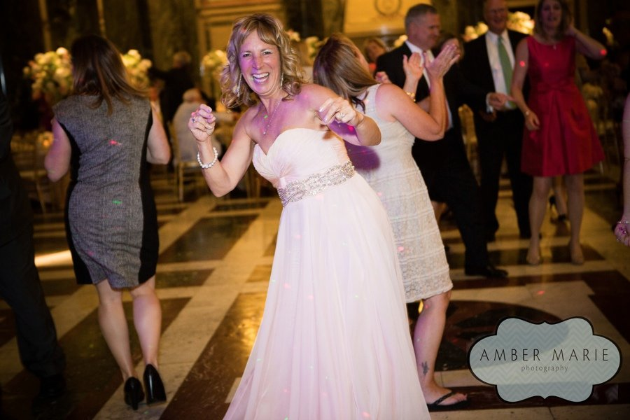 Carnegie Museums Pittsburgh Wedding Reception - Mother of the Bride Dances