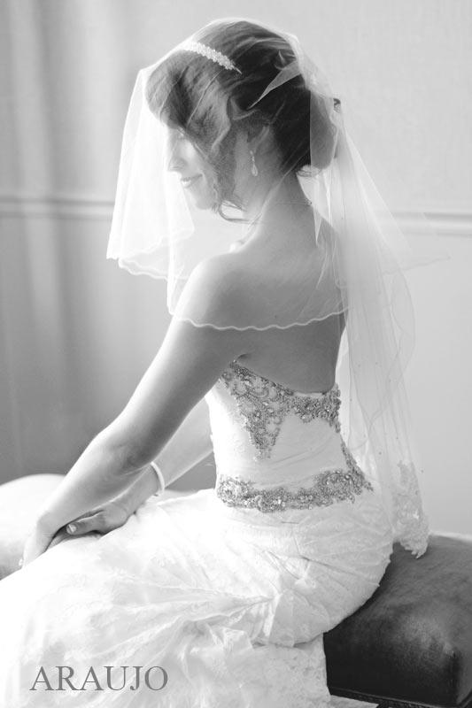 Duquesne Club Pittsburgh Wedding: Bride in Beaded Mermaid Wedding Gown