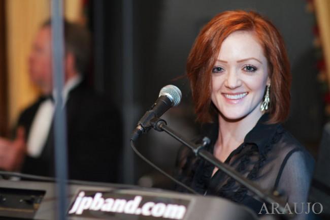 Duquesne Club Pittsburgh Wedding Reception: John Parker Band Singer