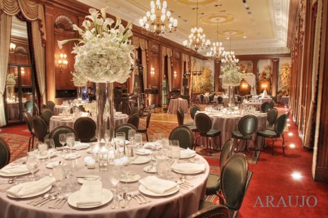 Duquesne Club Pittsburgh Wedding Reception: Large Ballroom Reception Space