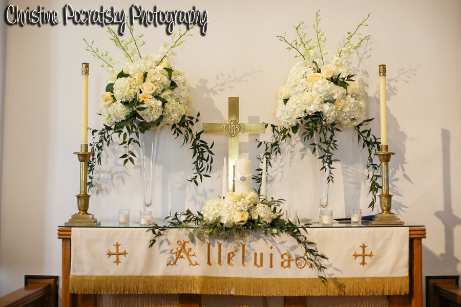 Hopwood Social Hall Wedding Ceremony - Chapel Altar Where Couples Marry