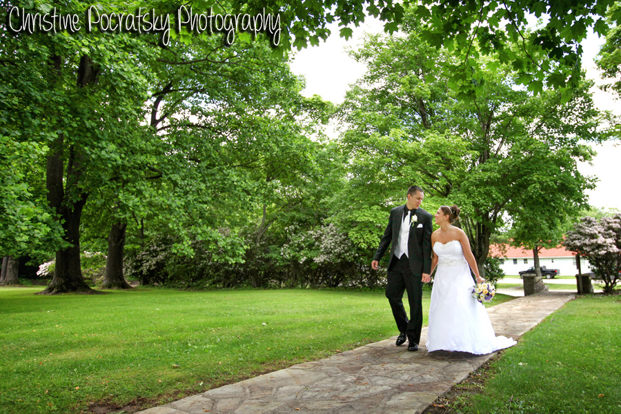 Hopwood Social Hall Wedding Ceremony - Newlyweds Exit Wedding Chapel