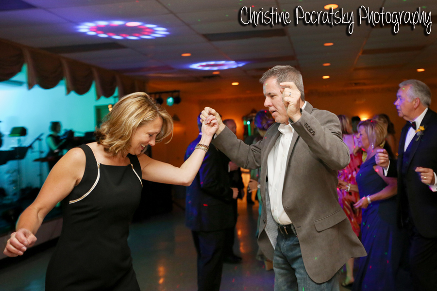 Hopwood Social Hall Wedding Reception - Family Members Swing