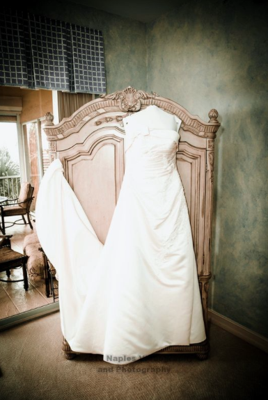 Golf Lodge at the Quarry Wedding: A-Line Wedding Dress
