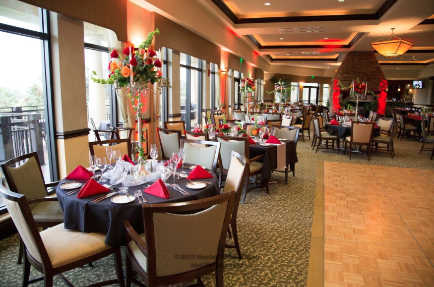 Golf Lodge at the Quarry Wedding Reception: Ballroom Venue