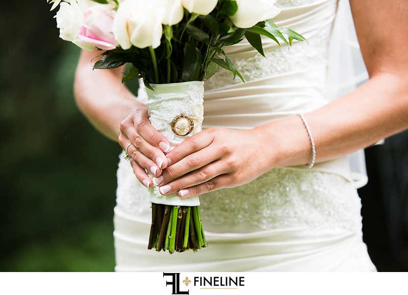 Greensburg Country Club Wedding: Bridal Bouquet of Roses