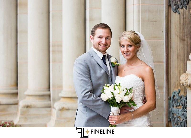 Greensburg Country Club Wedding: Newlyweds Photo
