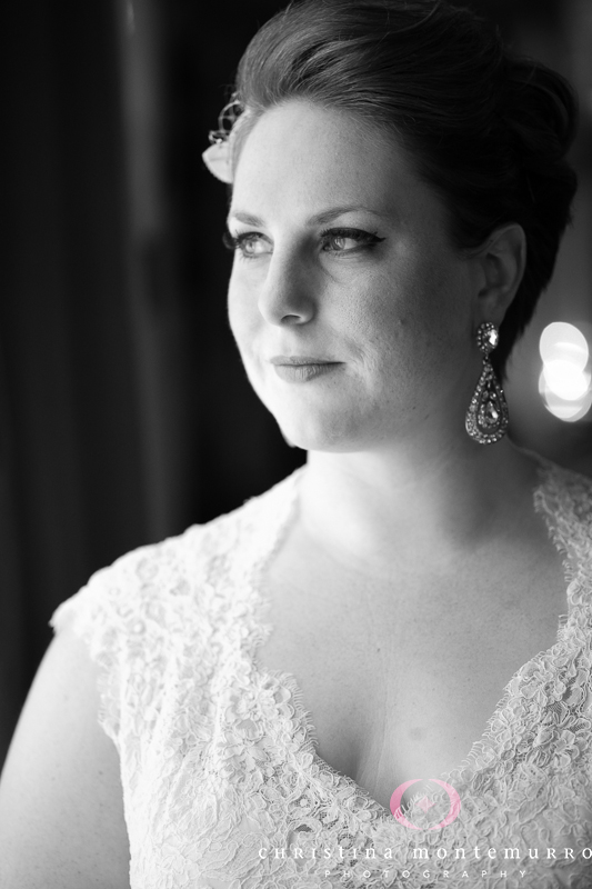 Heinz History Center Pittsburgh Wedding - Bride's Vintage-Style Makeup