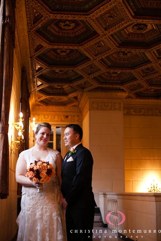 Heinz History Center Pittsburgh Wedding - Newlyweds in the Omni William Penn Hotel
