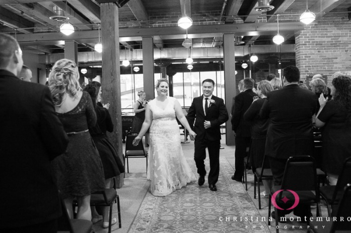 Heinz History Center Pittsburgh Wedding Ceremony - Bride and Groom Exit Ceremony