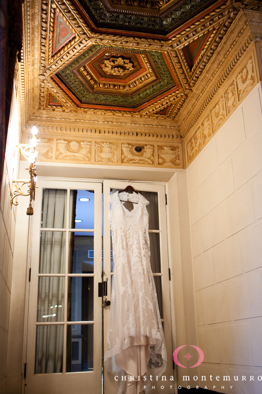 Heinz History Center Pittsburgh Wedding - Vintage Style Wedding Dress