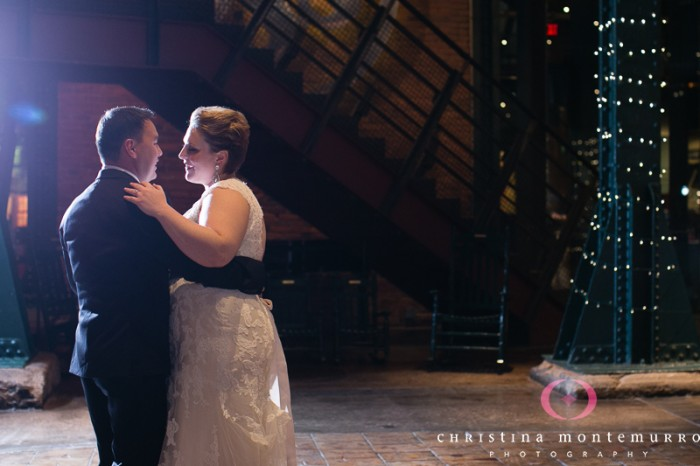 Heinz History Center Pittsburgh Wedding Reception - Bride and Groom's First Dance