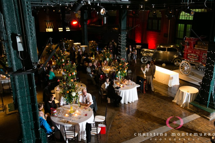 Heinz History Center Pittsburgh Wedding Reception - Tables Filled With Guests