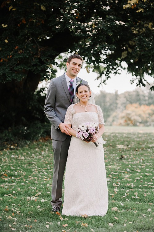 Pittsburgh Golf Club Wedding - Newlyweds on Golf Course