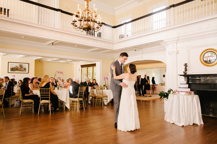 Pittsburgh Golf Club Wedding Reception - Bride and Groom's First Dance