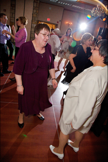 Oglebay Resort Pittsburgh Wedding Reception - Guests Have Fun on Dance Floor