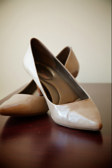 Oglebay Resort Pittsburgh Wedding - Elegant Bridal Shoes
