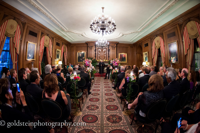 Duquesne Club Pittsburgh Wedding Ceremony - Upscale Marriage Space