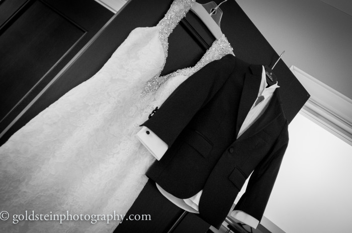 uquesne Club Pittsburgh Wedding - Upscale Bride and Groom Clothes