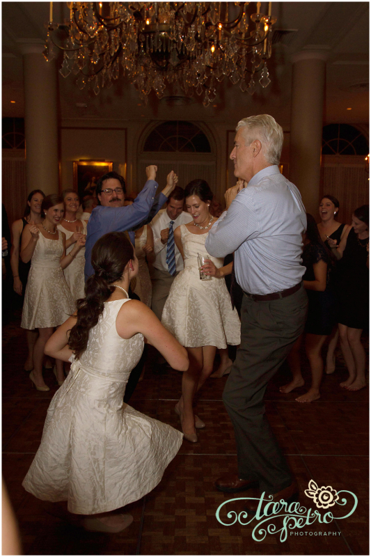 Pittsburgh Athletic Association Wedding Reception - Wedding Party Dancing