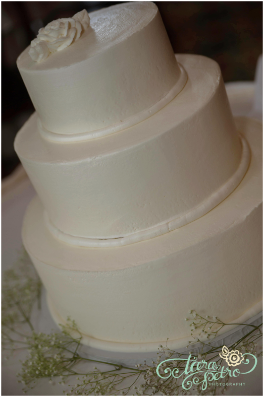 Pittsburgh Athletic Association Wedding Reception - Classic 3-Tier Wedding Cake