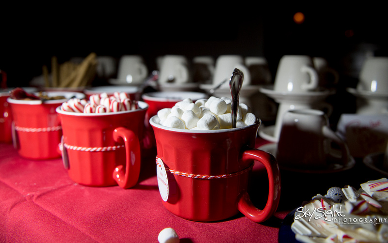Green Gables Wedding Reception: Marshmallows, Peppermint, and Chocolate Chips