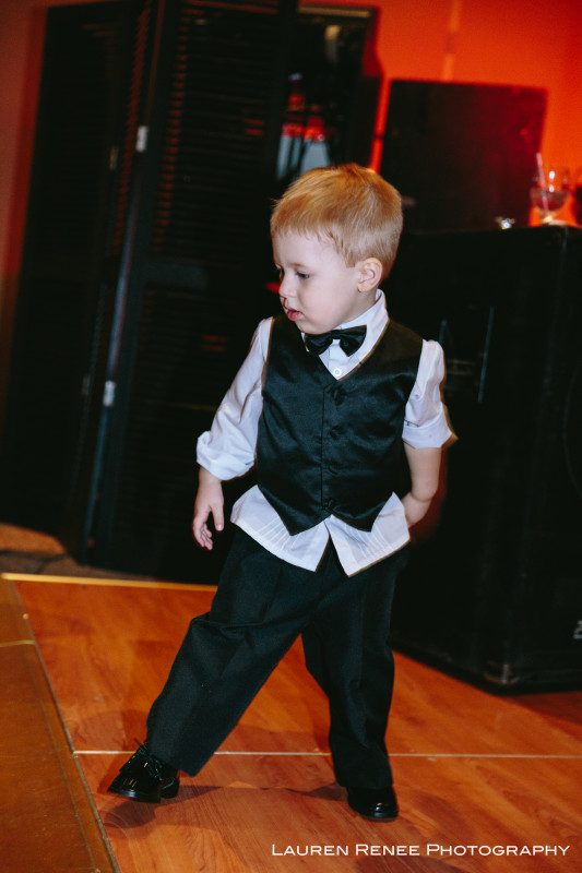 Sheraton Station Square Hotel Pittsburgh Wedding: Cute Little Boy Dancing