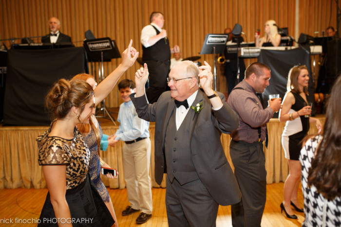 Casino at Lakemont Park Wedding Reception: Family Partying
