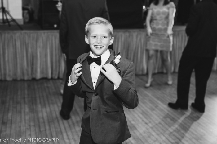 Casino at Lakemont Park Wedding Reception: Ring Bearer Dancing