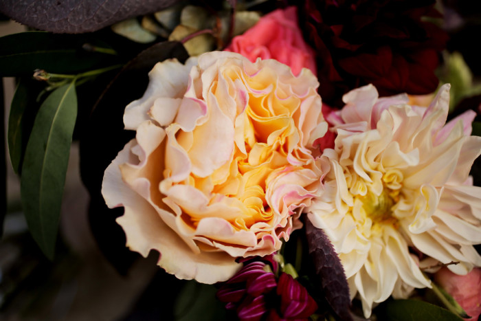Hilton Garden Inn Southpointe Wedding: Pink and White Peonies