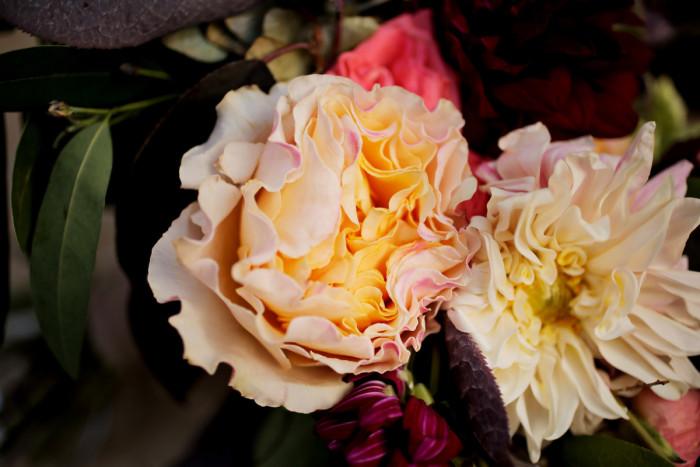 Hilton Garden Inn Southpointe Wedding: Pink and White Peonies