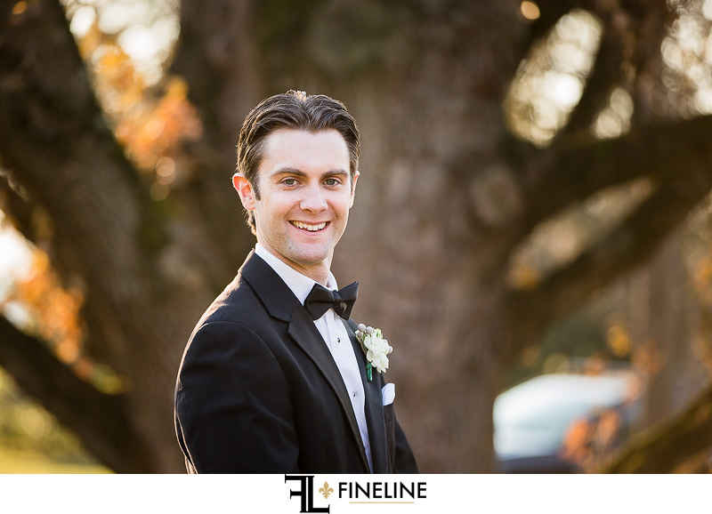 Rolling Rock Country Club Ligonier Wedding: Handsome Groom with Bow Tie
